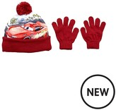 Cars 2 Pc Hat And Glove Set