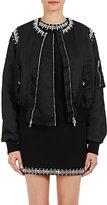 Givenchy Women's Crystal-Embellished Bomber Jacket-BLACK