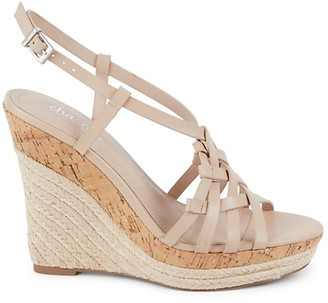 Charles by Charles David Strappy Cork Espadrille Wedge Sandals