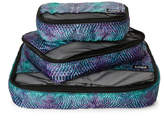 aimee kestenberg Set of 3 Marine Python Packing Cubes