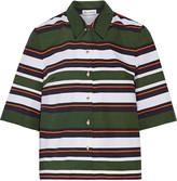 Suno Striped cotton top