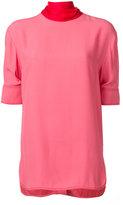 Marni sash neck blouse