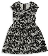 Dex Floral Fit-and-Flare Dress