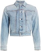 7 For All Mankind Triple Needle Slant Pocket Denim Jacket