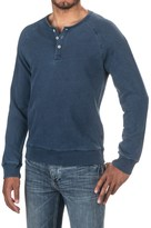 Michael Stars Raglan Henley Shirt - Long Sleeve (For Men)