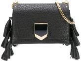 Jimmy Choo Petite Lockett tassel crossbody bag - women - Calf Leather/Metal (Other) - One Size