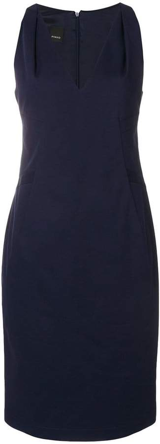 Pinko fitted midi dress