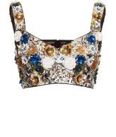 Dolce & Gabbana Sequin Embellished Bralette