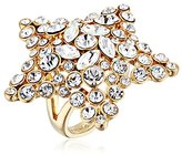 Kate Spade Star Clear/Gold Ring, Size 7