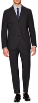 Boglioli Solid Wool Stretch Dover Suit