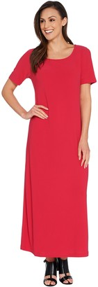 Linea by Louis Dell'Olio Regular Moss Crepe Maxi Dress