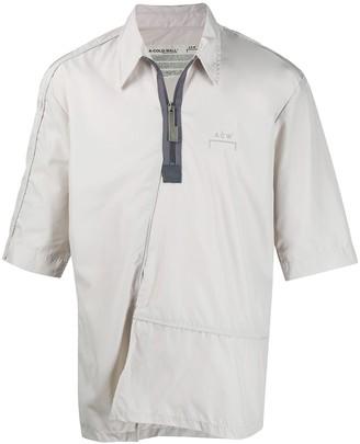 A-Cold-Wall* Short-Sleeved Quarter Zip Shirt