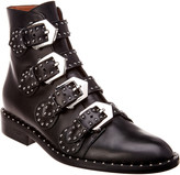 Givenchy Elegant Studded Leather Boot
