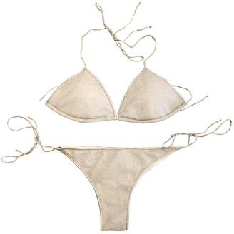 Oseree Silver Swimwear for Women