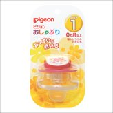 Pigeon Baby Pacifier Step 1 for 0-4 Months BPA Free (Pink) by