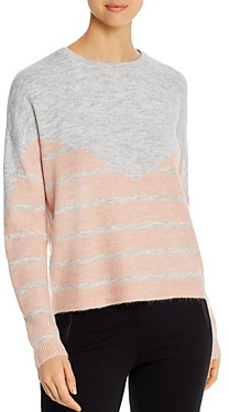 Vero Moda Rana Color-Blocked Striped Sweater