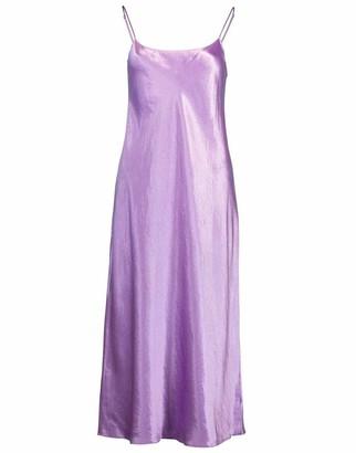 Vince Verbana Satin Slip Dress