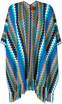 M Missoni intarsia knit cape