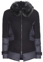 Callens Wool And Cashmere Down Jacket