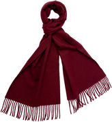 One Kings Lane Alpaca Wool Solid Scarf, Burgundy