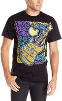 Liquid Blue Men's Woodstock-Peace and Music T-Shirt