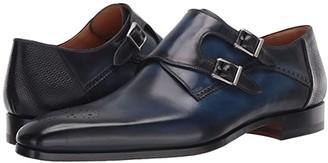 Magnanni Derek (Navy) Men's Shoes