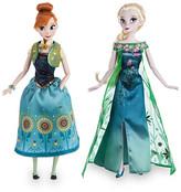 Disney Anna and Elsa Dolls Summer Solstice Gift Set - Frozen Fever - 12''