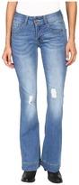 Petrol Classic Flare Jeans in Dark Blue