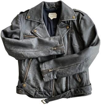 Current/Elliott Current Elliott Black Leather Leather jackets
