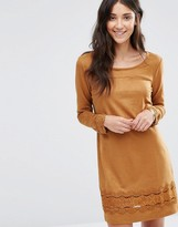 Vila Drawn Long Sleeve Dress