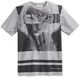 Sean John Men's Striped Graphic-Print T-Shirt