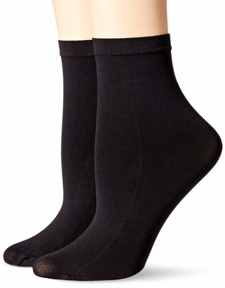 Hanes Women's Perfect Socks Opaque Anklet