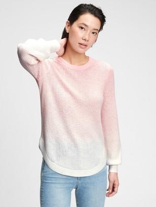 Gap True Soft Textured Crewneck Sweater