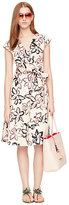 Kate Spade Tiger lily wrap dress