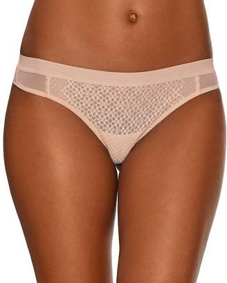 DKNY Women's Sheer Lace Thong