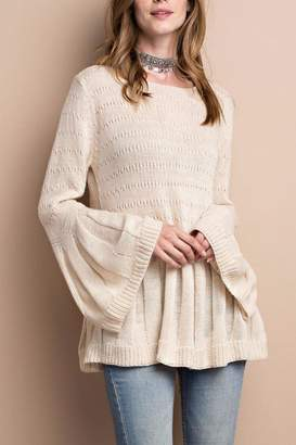 People Outfitter Keep Bell Sweater