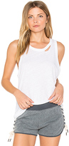 n:PHILANTHROPY Crystal Tank in White. - size S (also in XS)