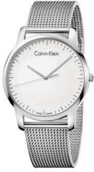 Calvin Klein City Stainless Steel Watch