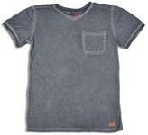 7 For All Mankind Boys' Washed Pocket Tee - Big Kid