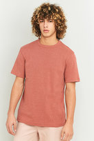Urban Outfitters Red Marl Heavy Rib T-shirt
