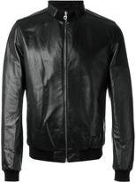 Salvatore Ferragamo funnel neck jacket