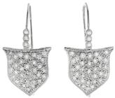 Cathy Waterman Shield Earrings