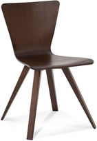 Saloom Bowtie Dining Chair, Chestnut