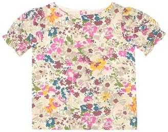 Bonpoint Lilune floral cotton top
