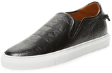 Givenchy Textured Star Slip-On Sneaker