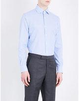Corneliani Gingham Slim-fit Cotton Shirt