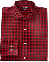 Lauren Ralph Lauren Men's Estate Slim-Fit Non-Iron Tartan Plaid Stretch Dress Shirt