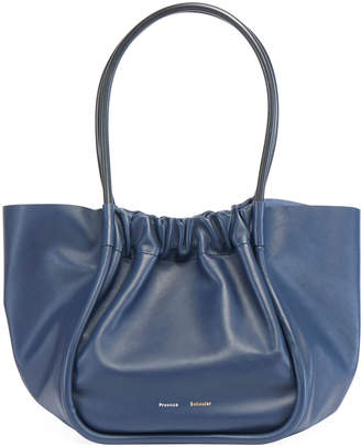 Proenza Schouler Large Ruched Smooth Tote Bag