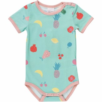Fred's World by Green Cotton Baby Girls' Fruit S/s Body Shaping Bodysuit