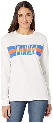 Billabong Love Strong T-Shirt (Salt Crystal) Women's Clothing
